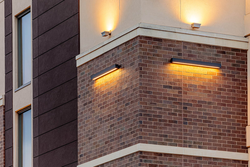 SpringHill Suites by Marriott Brickwork by G.L. Wise Masonry